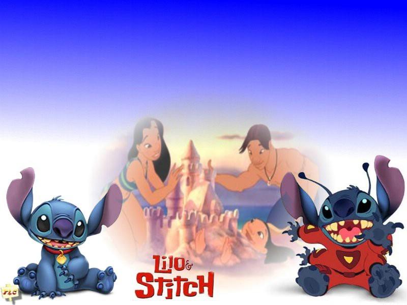 Lilo And Stitch Movie 2002 HD Desktop Wallpapers 800x600