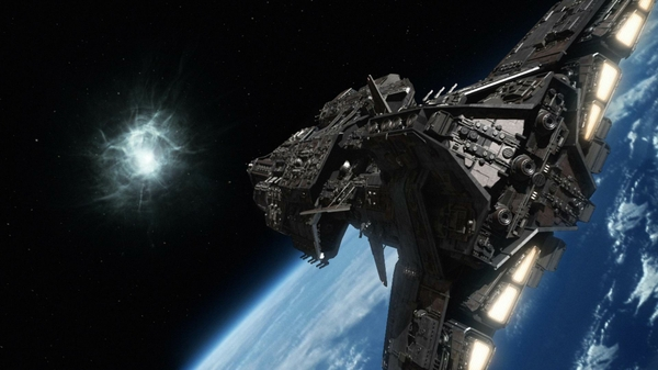 Stargate Universe Destiny Spaceships Science Fiction 1920x1080 HD 600x337