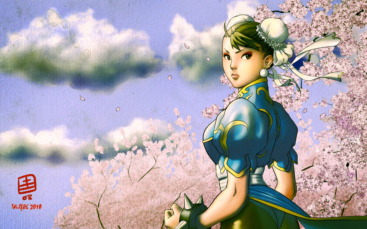 Free Download Chun Li Wallpaper By Wulf86 1280x800 For Your