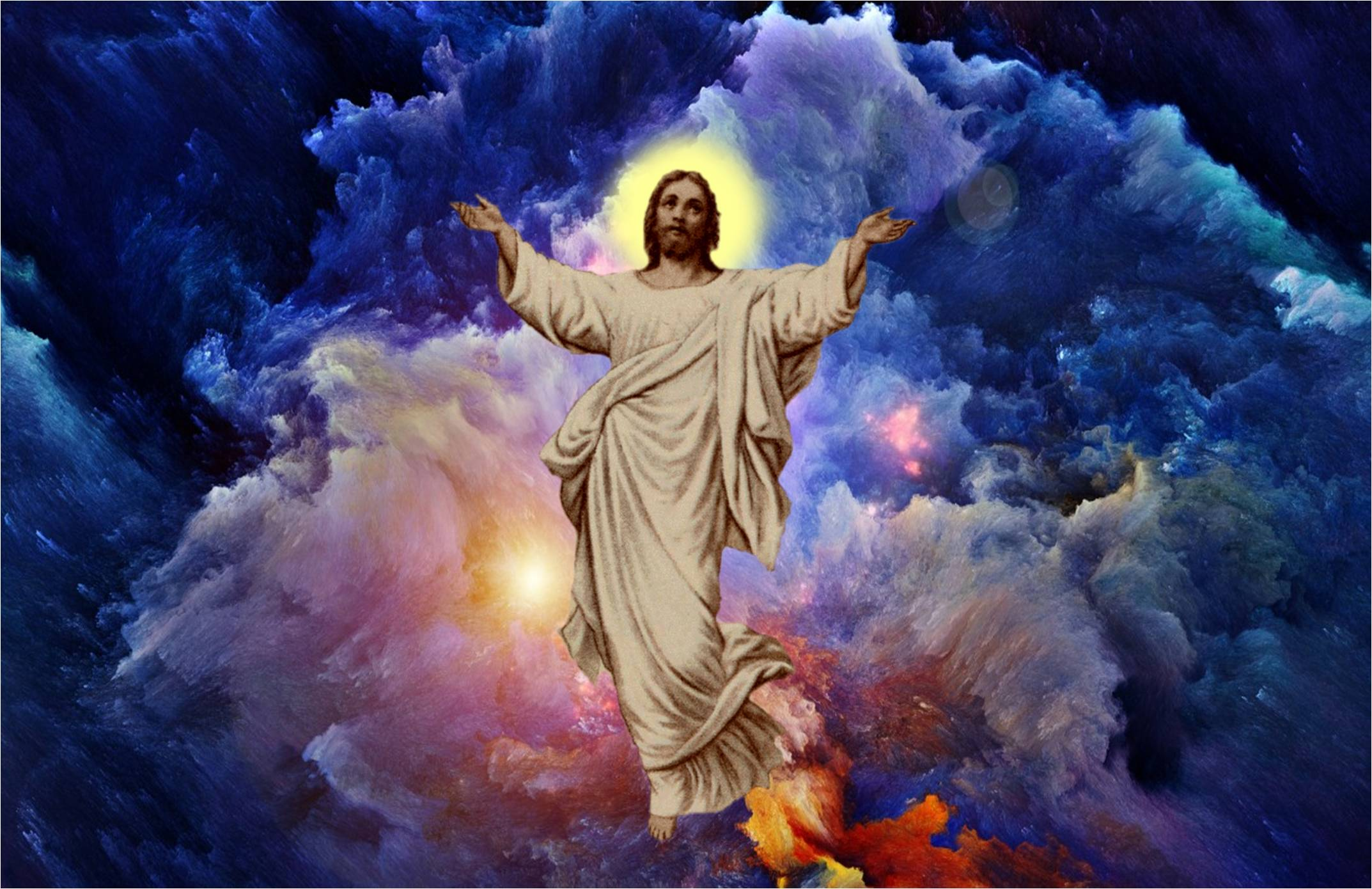 Jesus hd background