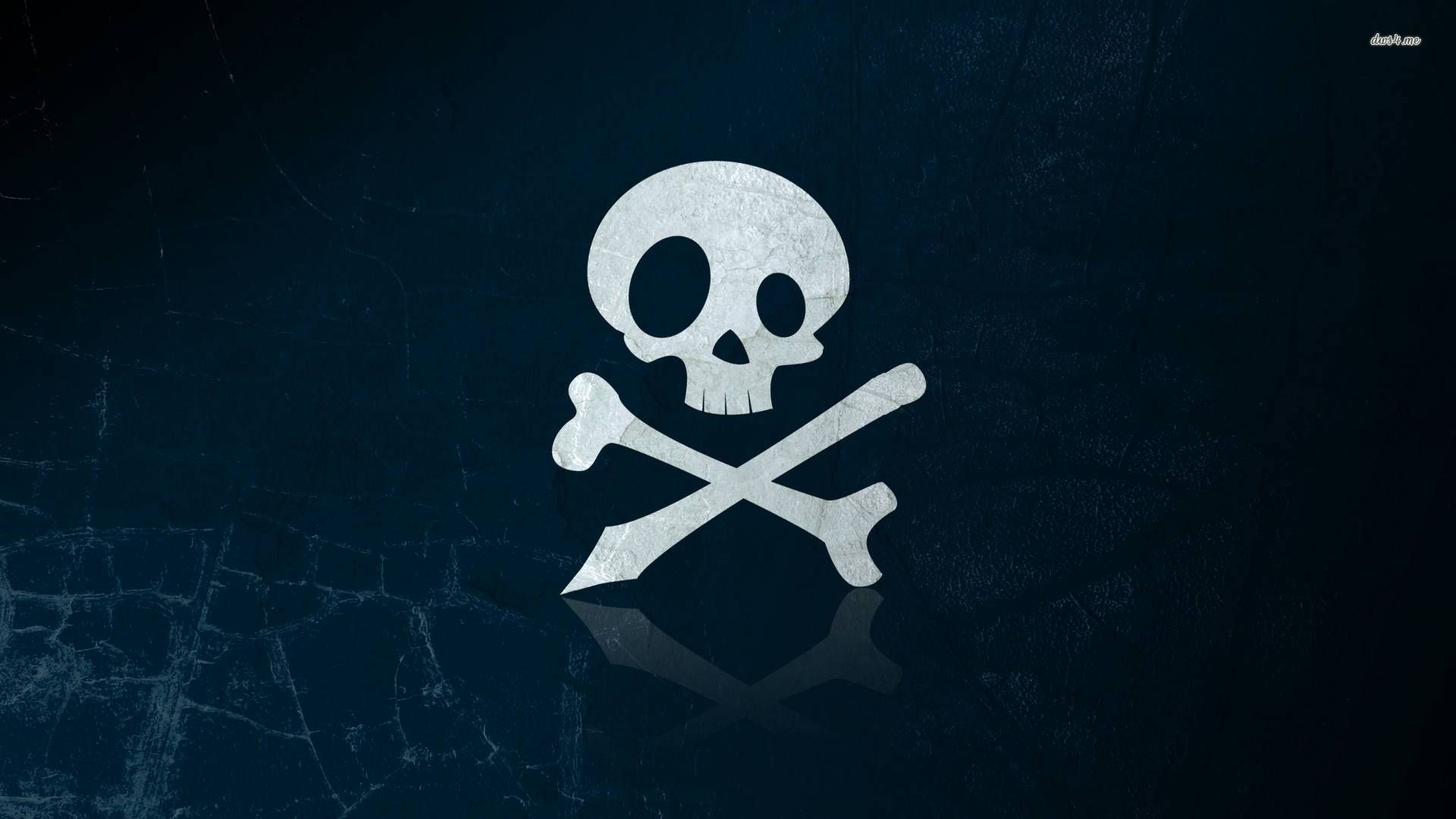 Skull And Crossbones Wallpaper - WallpaperSafari