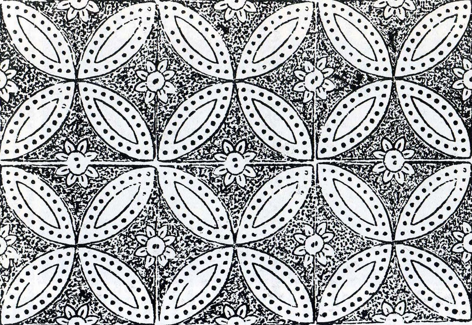 The Textile Blog The Geometrical Framework of Pattern 1600x1102