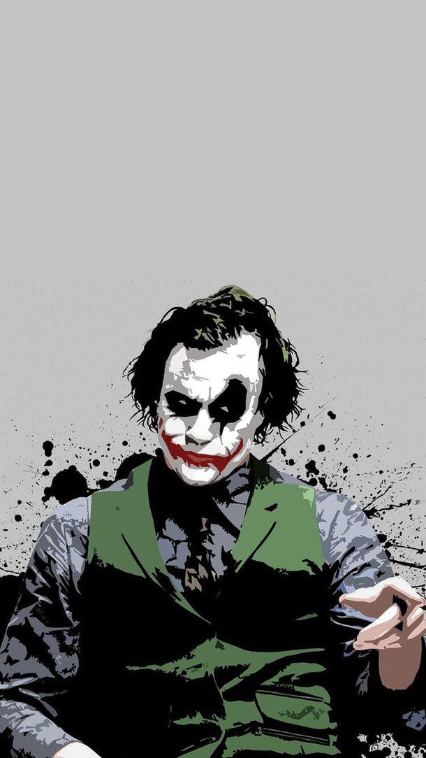 49 Jared Leto Joker Iphone Wallpaper On Wallpapersafari