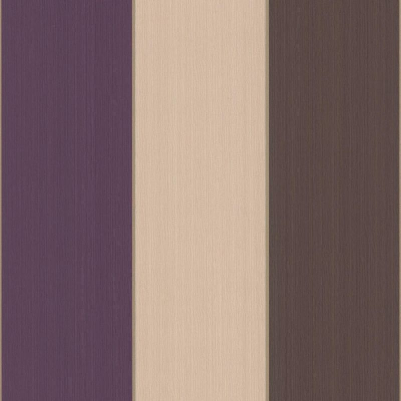Colours by BQ Unity Stripe Wallcovering Purple 10m Painting And 800x800