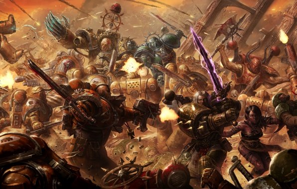 Imperial fists warhammer warhammer 40k wallpapers 596x380