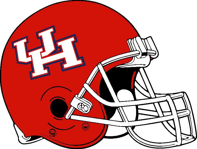 Houston Cougars helmet 2000 2011 by Chenglor55 799x607