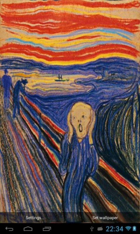 Free Download The Scream Wallpaper Edvard Munch The Scream