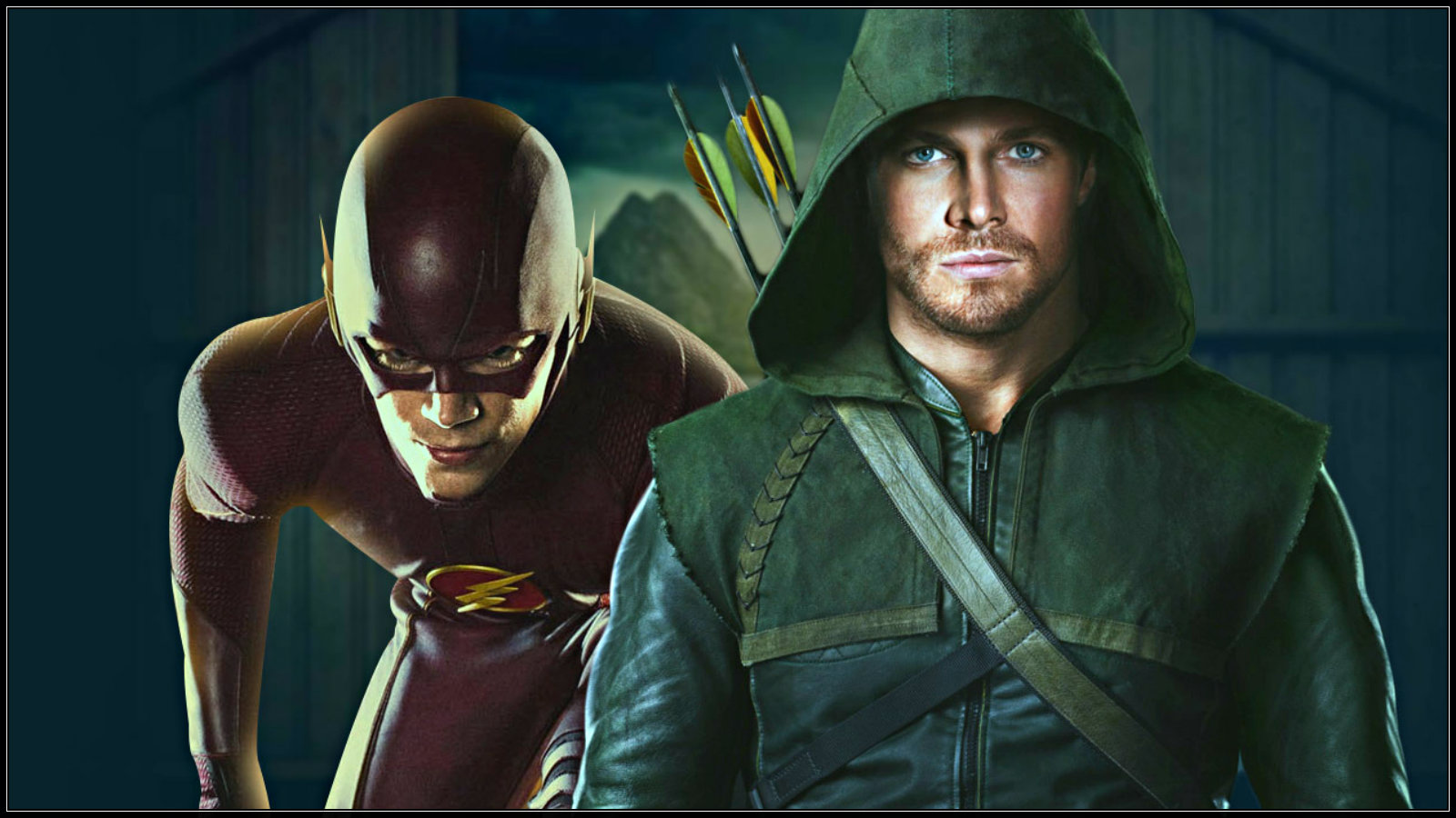 The Flash and Arrow crossover   The Flash CW Wallpaper 37771514 1600x900