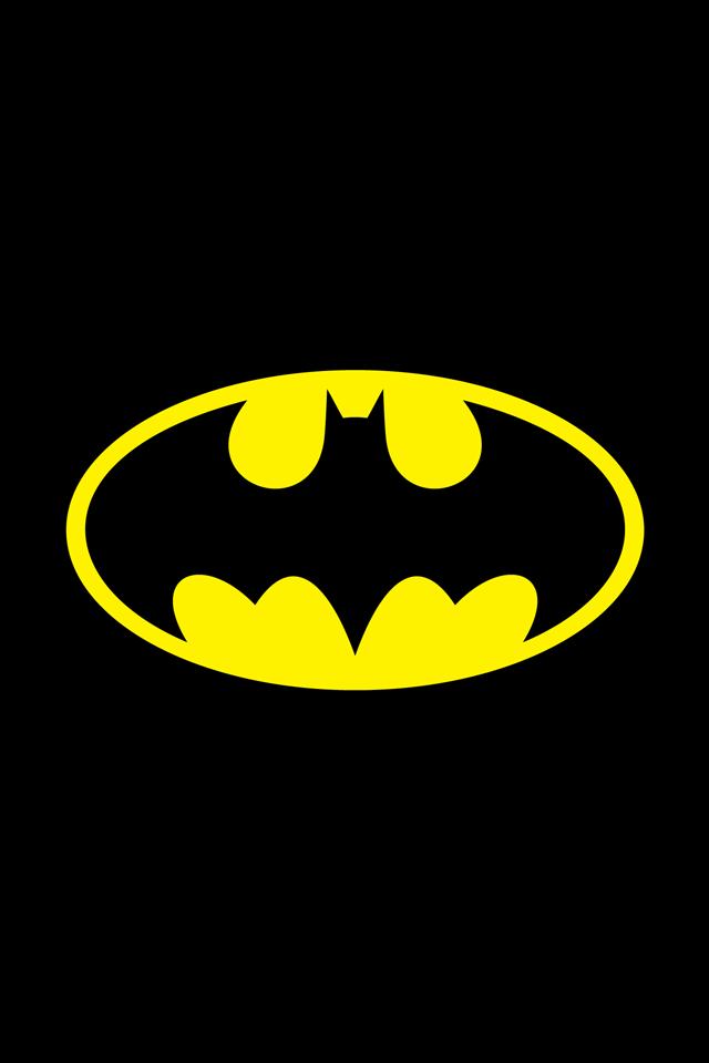 Batman Symbol iPhone Wallpaper Simply beautiful iPhone wallpapers 640x960