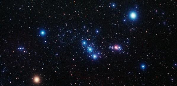 Orion Constellation Wallpaper Orion constellation e 598x291