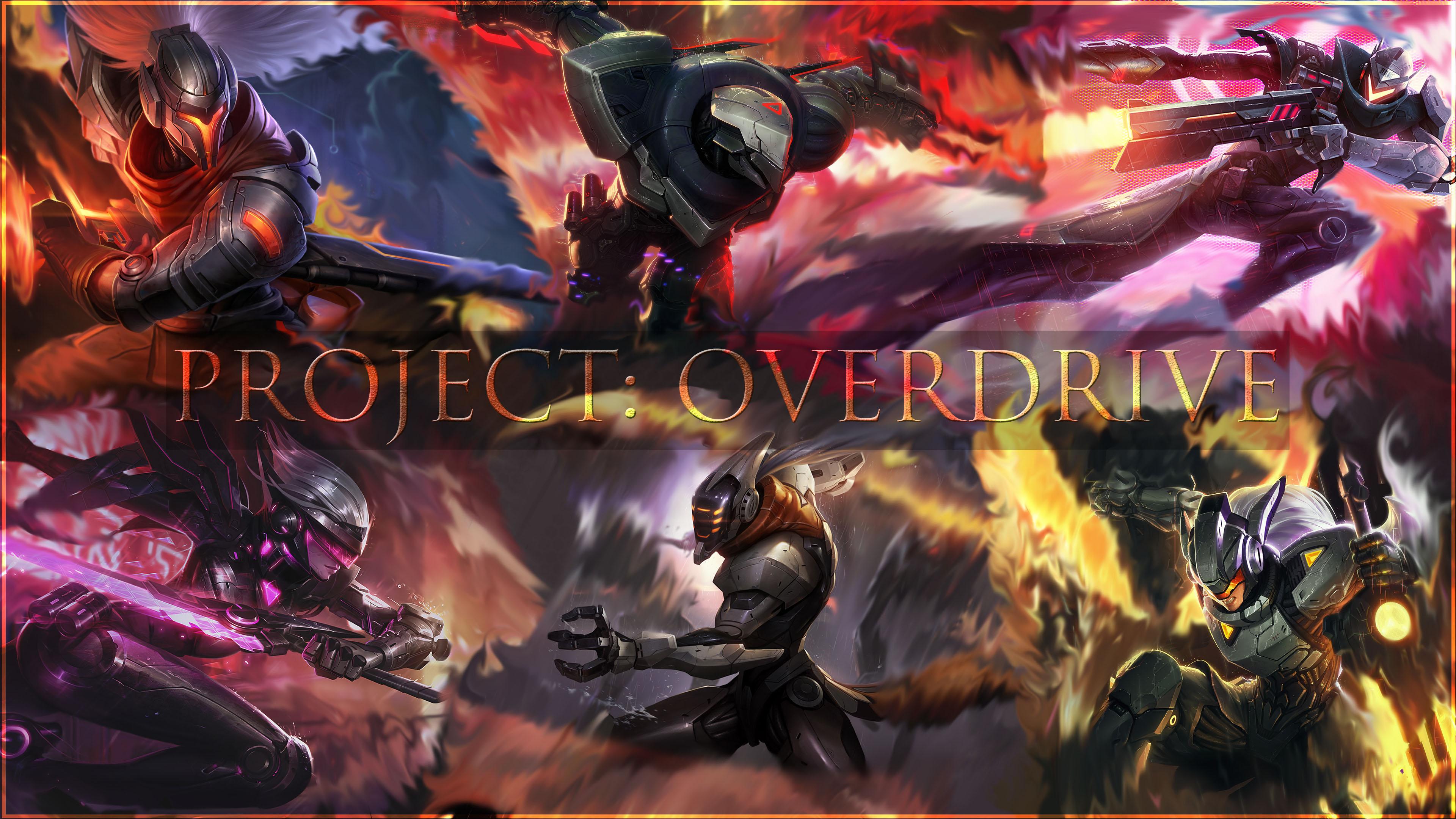 Project Overdrive Wallpaper By Venatorunum Watch Fan Art 3840x2160