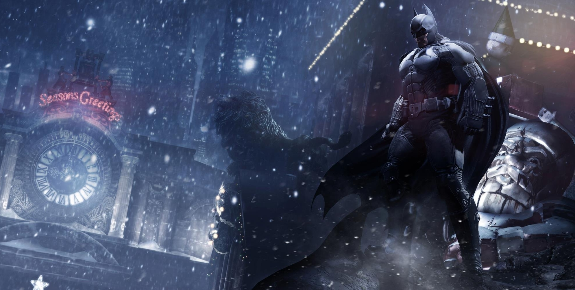 Batman Arkham Origins Wallpaper HD 1989x1004