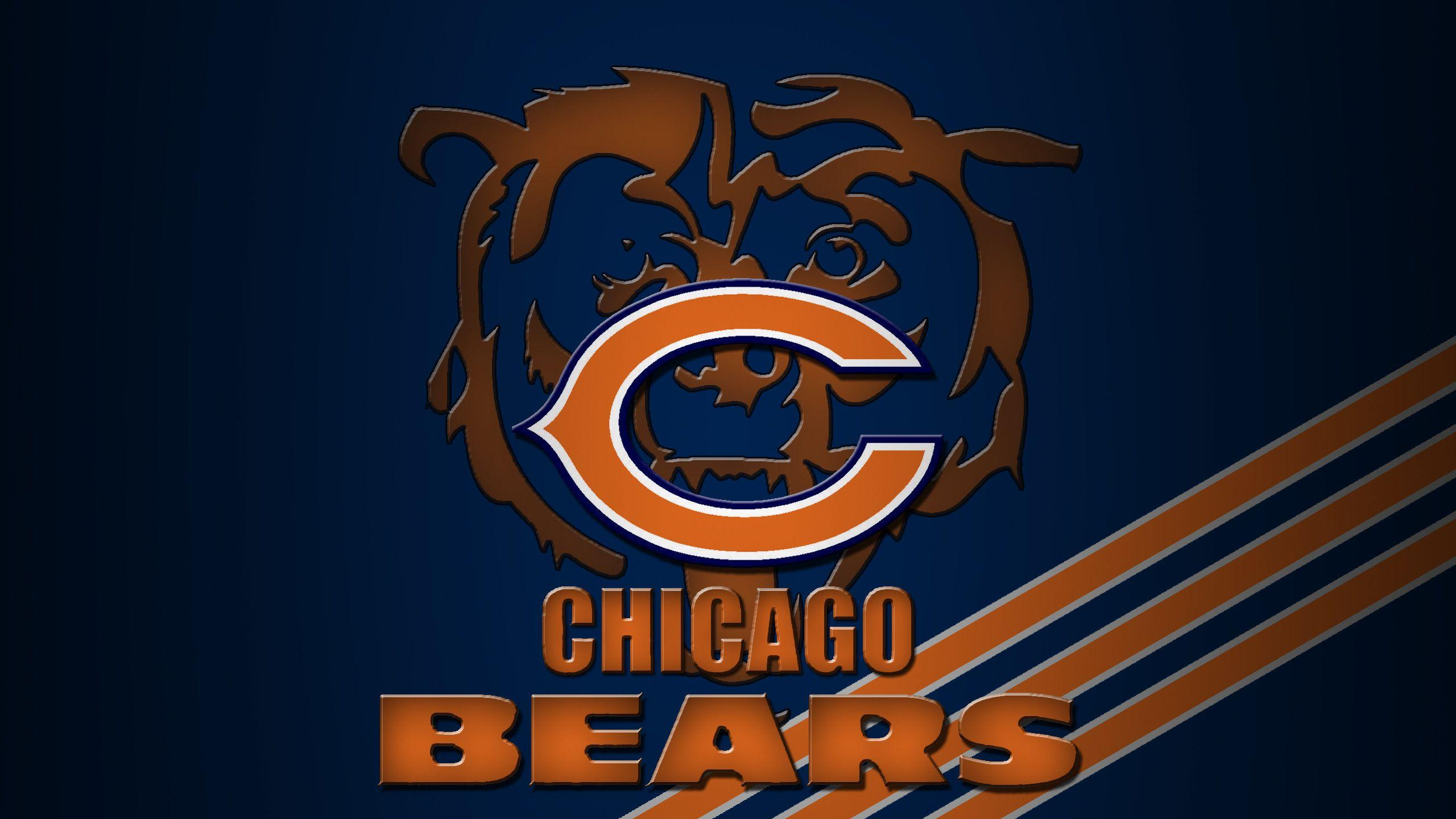 Chicago Bears Football Wallpapers   4k HD Chicago Bears Football 2560x1440