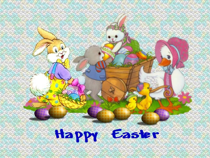 wallpapers ready to download easter on your desktop with eggs and cute 800x600