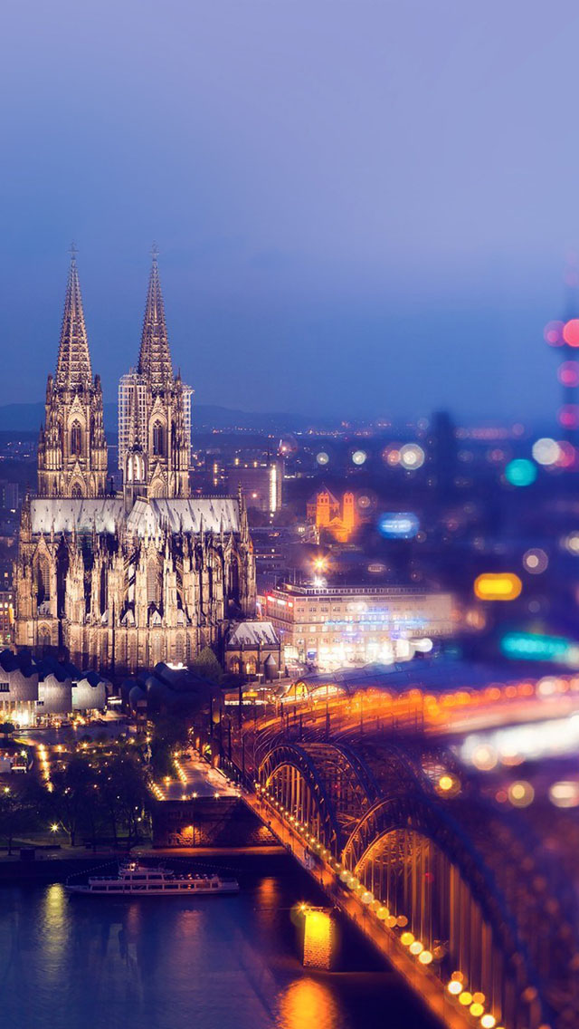 Cologne cathedral iPhone Wallpapers Download 640x1136