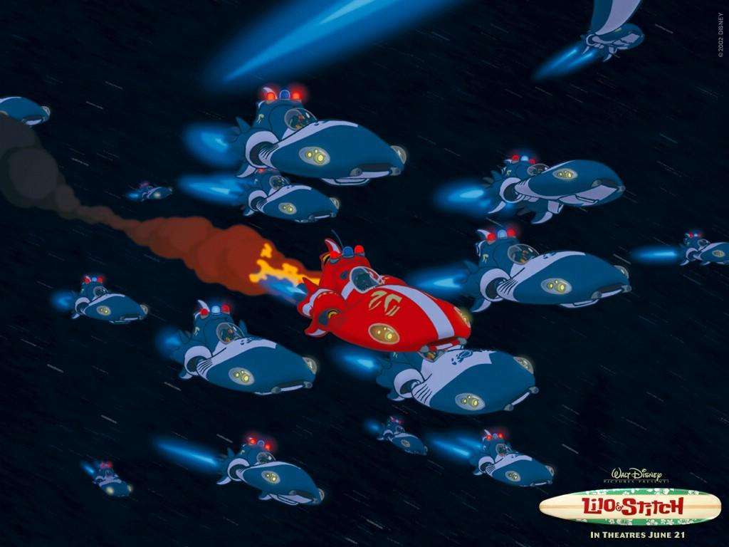 Lilo And Stitch Movie 2002 HD Desktop Wallpapers 1024x768