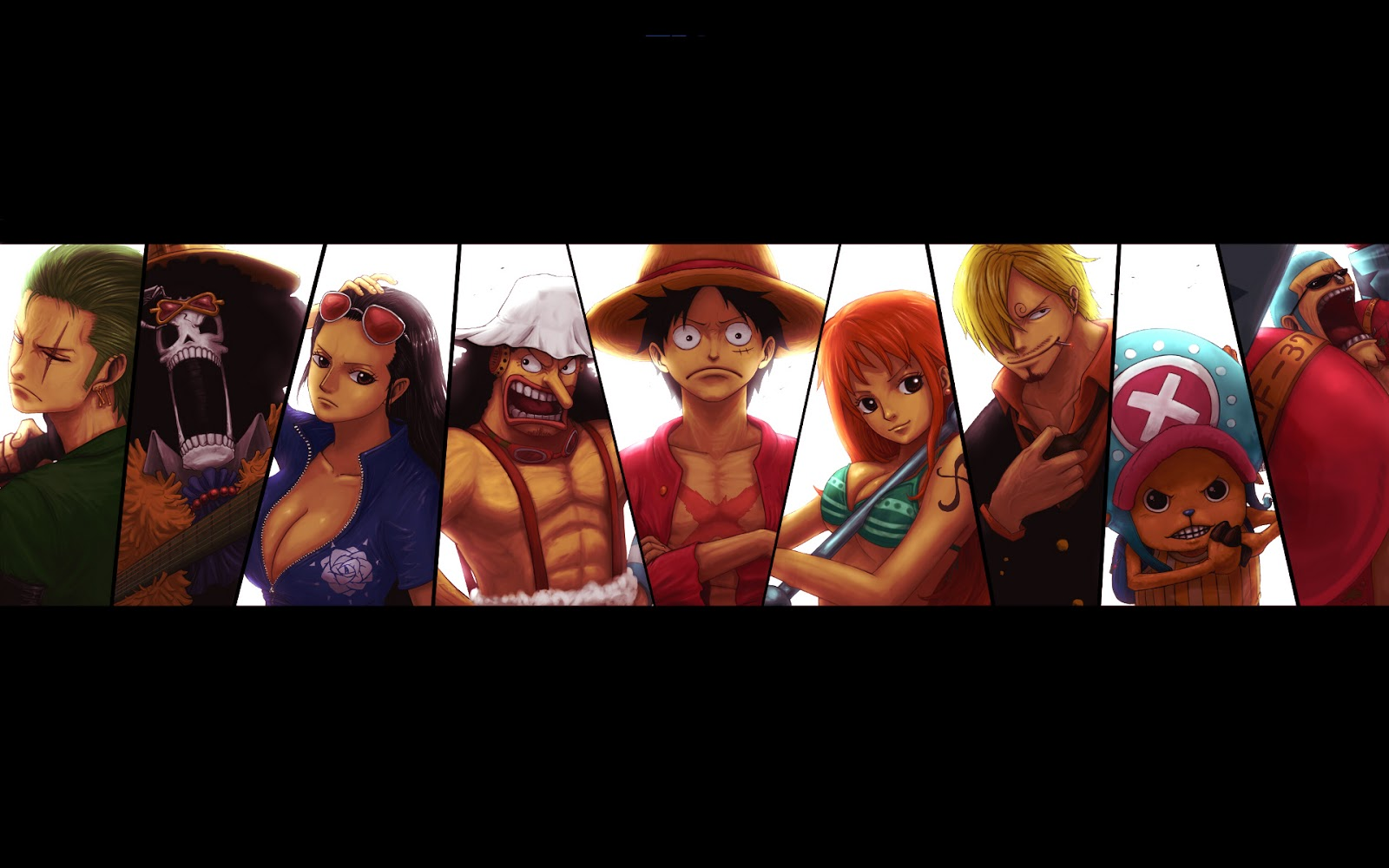 Nami Sanji Chopper Franky One Piece HD Wallpaper Dekstop Background 1600x1000