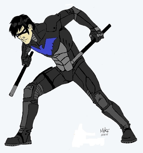 Nightwing Wallpaper Young Justice Nightwing from young justice 574x615