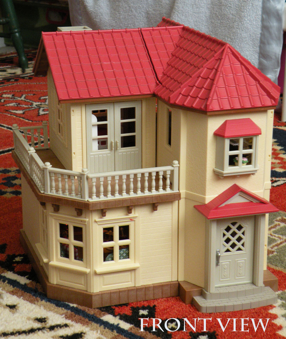 Calico Critters Sylvanian Families Luxury Townhouse Custom Wallpaper 1000x1183