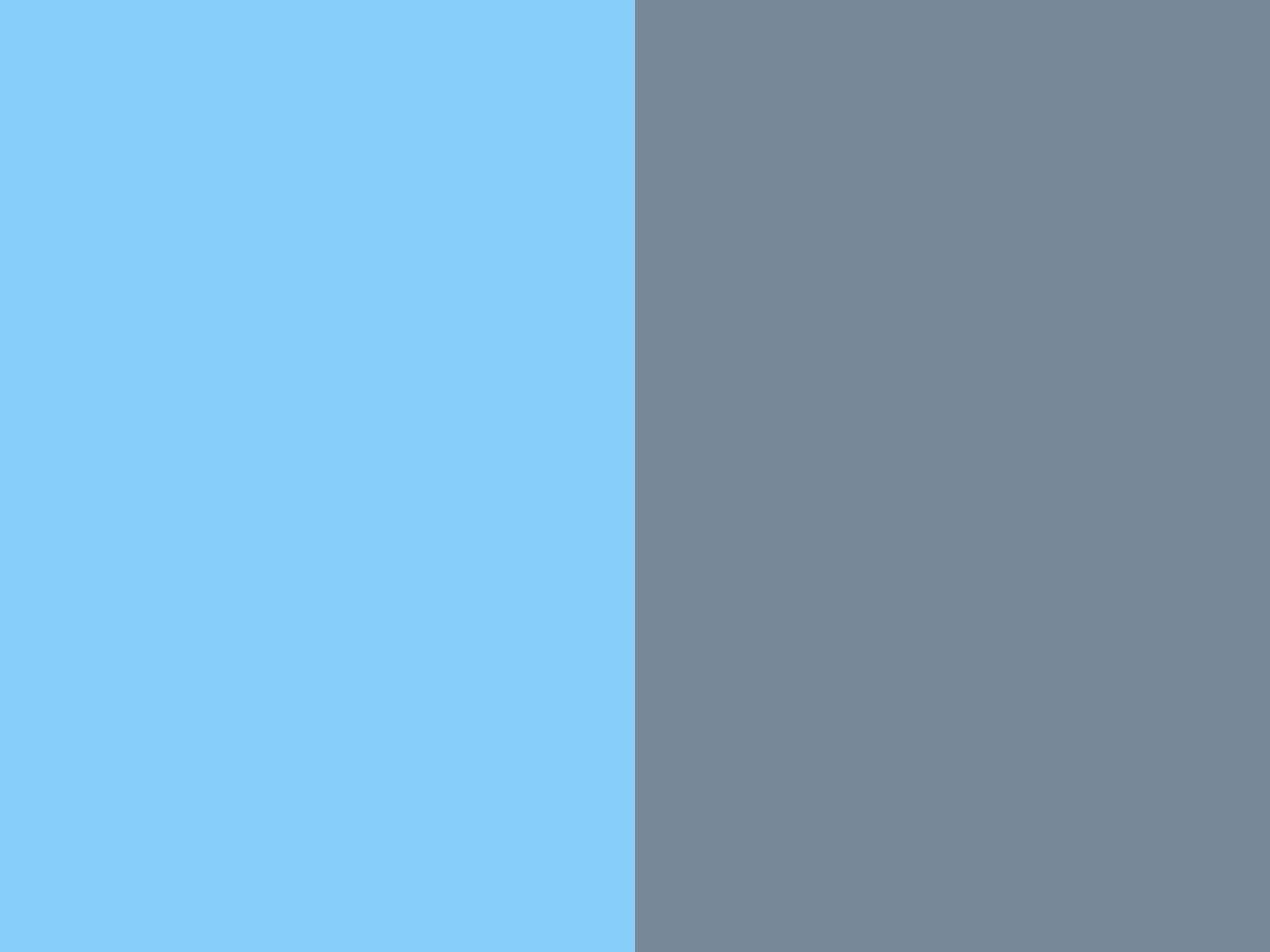 1600x1200 light sky blue and light slate gray two color background - Light Sky Blue Color