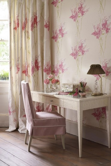 Curtains Ideas curtains matching wallpaper : Matching Curtains and Wallpaper - WallpaperSafari