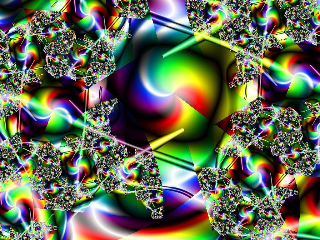 Rainbow Crazy Colorful Design 1024x768 pixel Popular HD Wallpaper 1024x768