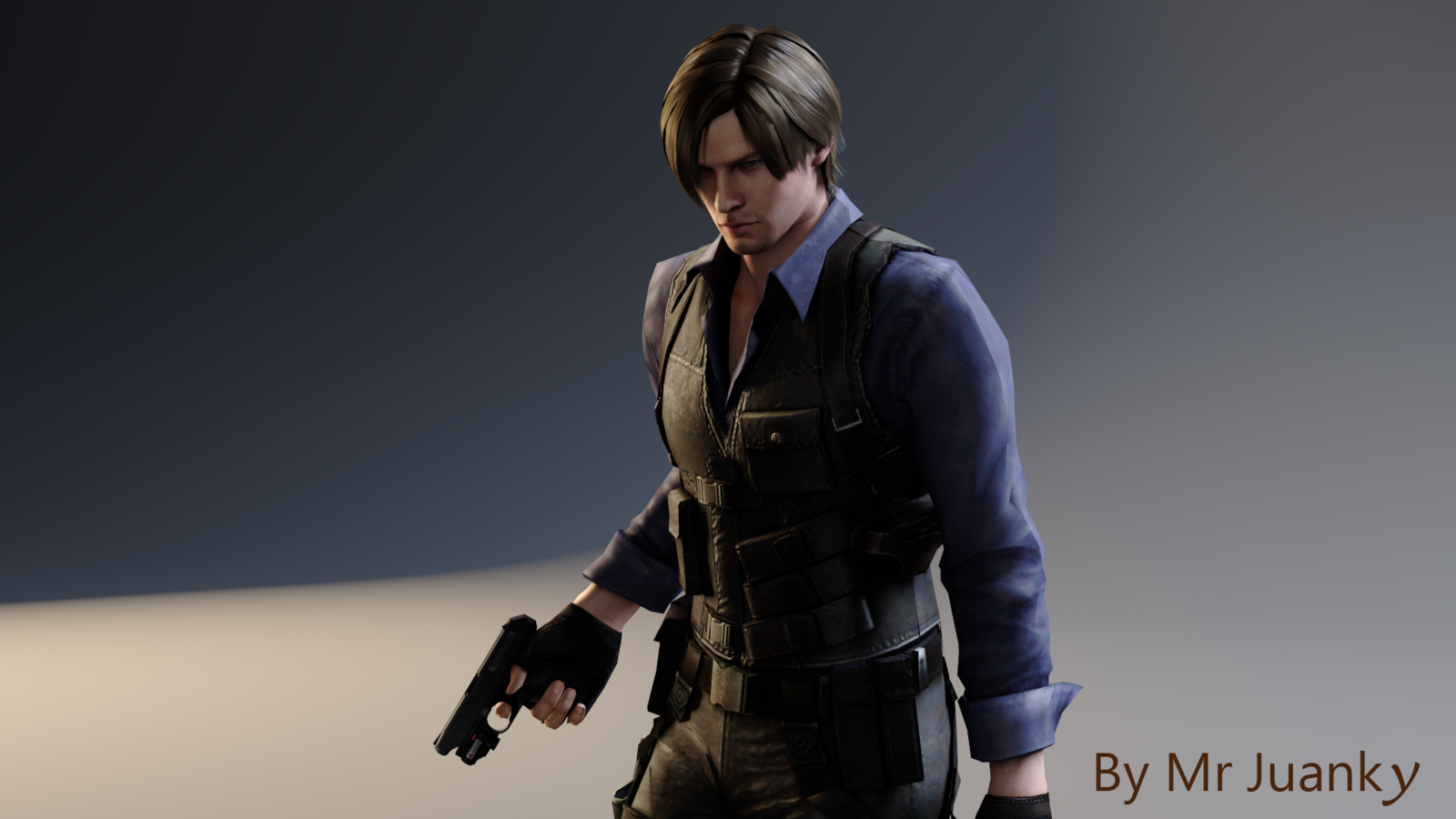 Free Download Leon S Kennedy Asia Outfit Re6 By Mr Juanky