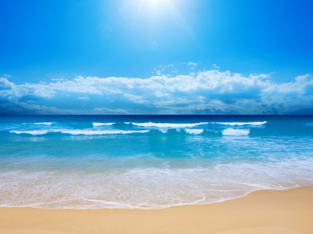 Paradise places wallpapers beach paradise my best wallpaper 1280x960