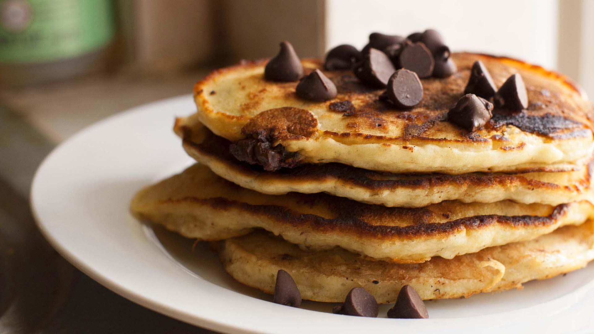 Chocolate Chip Pancakes Wallpaper 49916 1920x1080px 1920x1080