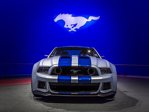 Need for Speed Mustang Wallpaper 500x375