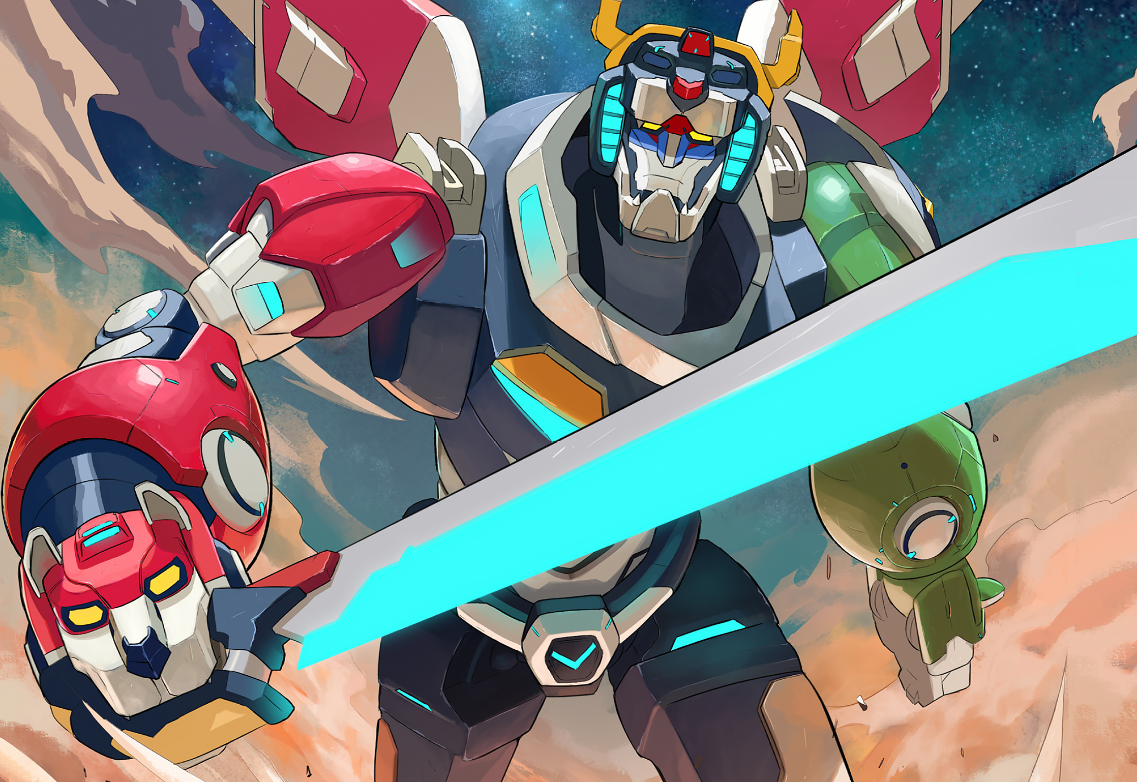 Free Download Voltron Legendary Defender Hd Wallpaper Background