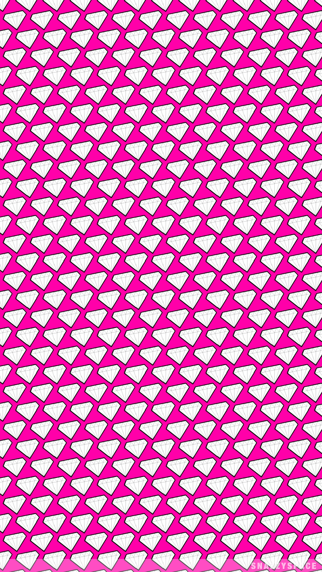 wallpaper installing this girly diamonds iphone wallpaper is very easy 640x1136