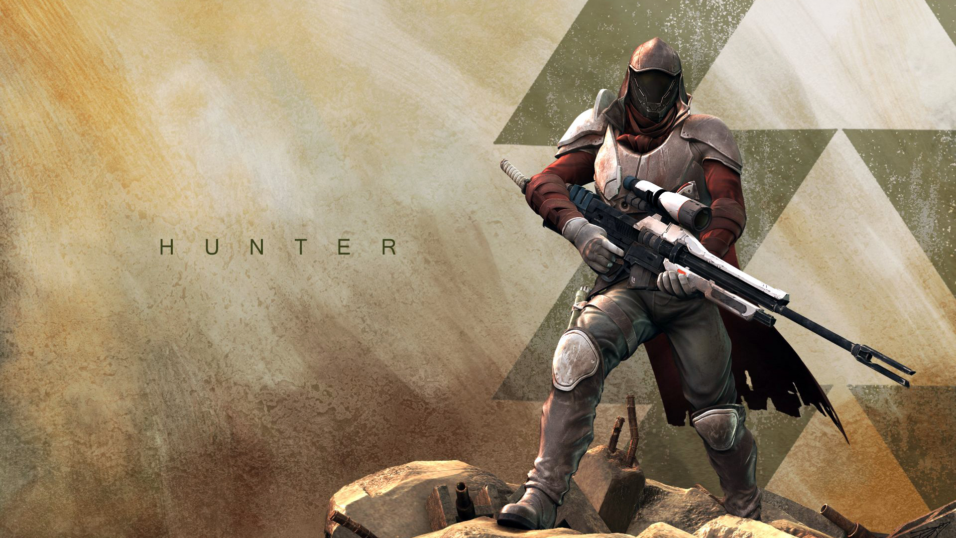 Hunter guardian class Destiny game HD 1920x1080 1080p and compatible 1920x1080