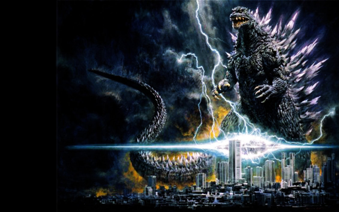 Godzilla Wallpaper 4 by Spitfire666xXxXx 1131x707