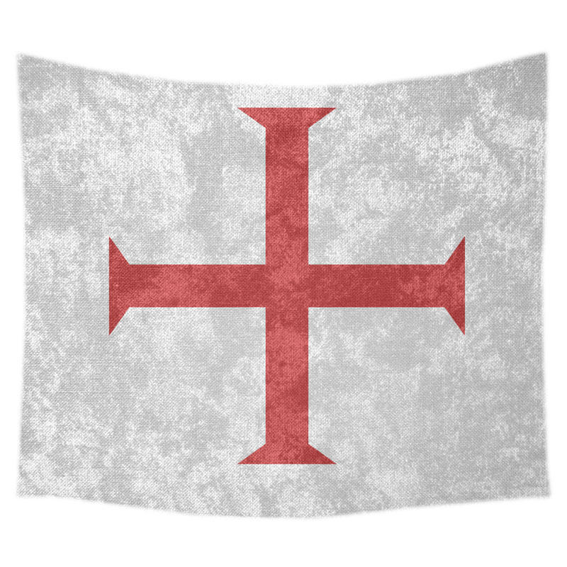 The Knights Templar Background Wall Hanging Tapestry Fashional 800x800