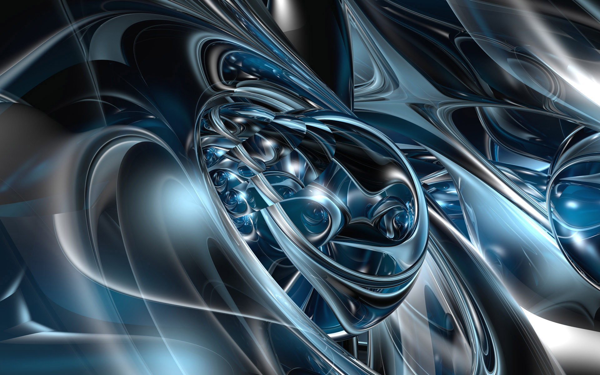 Wallpaper abstract 3d animaatjes 13 Wallpaper 1920x1200