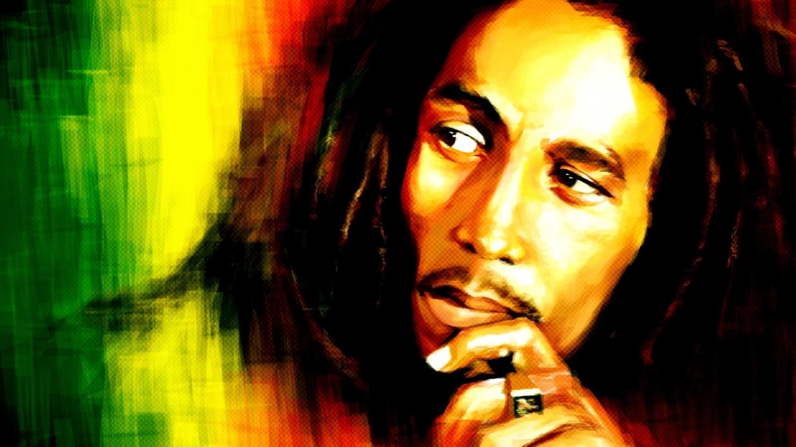 1945 69 years ago the reggae and music legend Bob Marley was born 1600x900