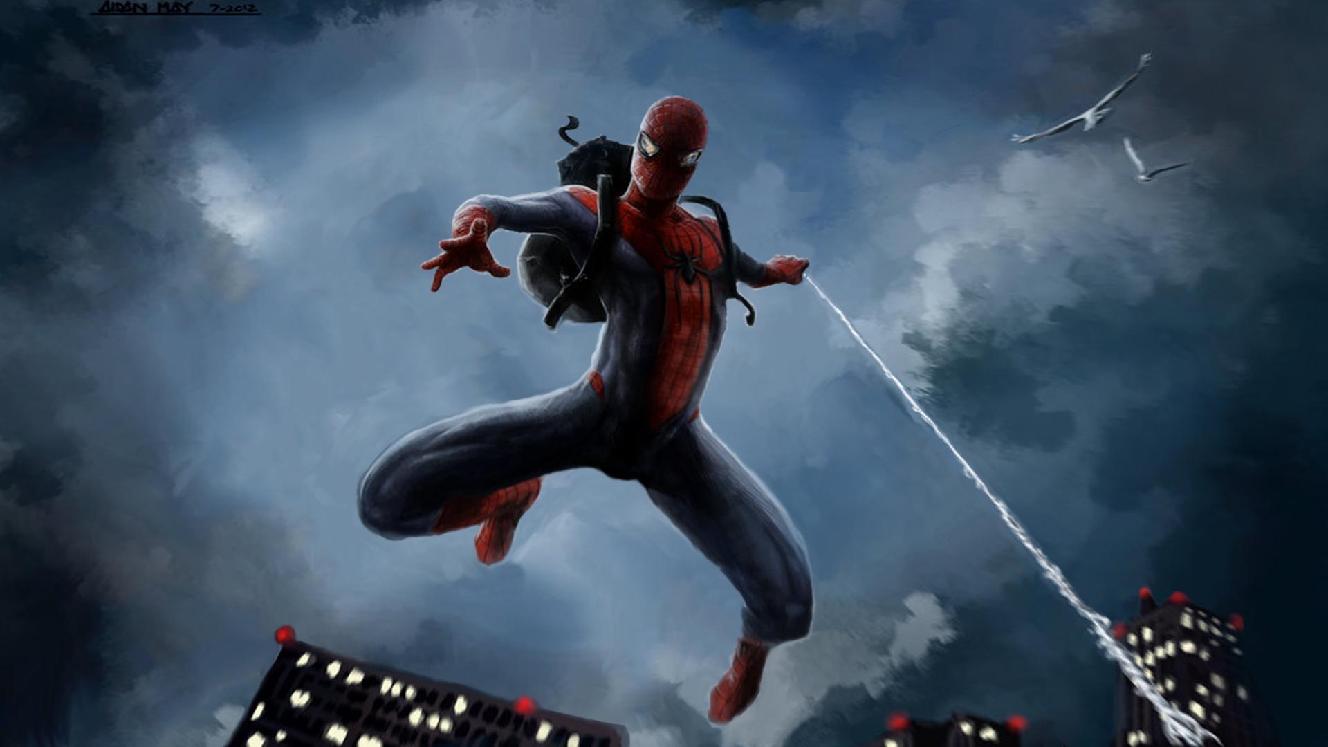 40 Amazing Spiderman Wallpaper HD for PC 1920x1080