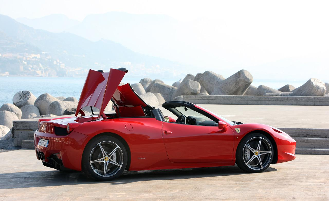 ferrari 458 spider wallpaper wallpapersafari. Black Bedroom Furniture Sets. Home Design Ideas