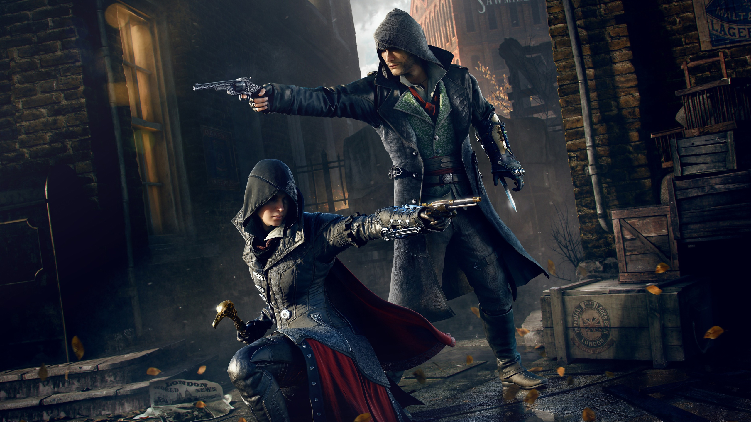 119 Assassins Creed Syndicate HD Wallpapers Background Images 2560x1440