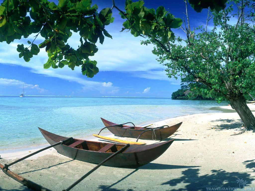 Beach Scene Desktop Wallpaper To Make Our PC Looks More Peaceful Beach 1024x768