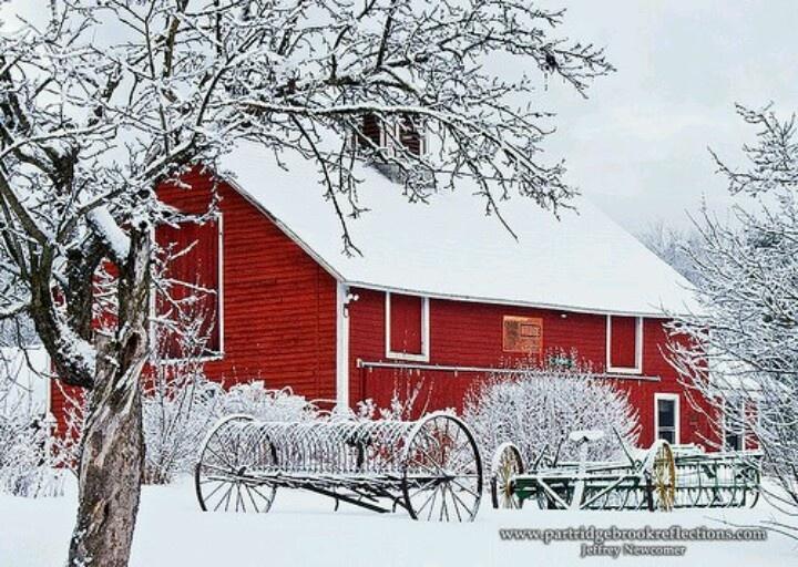 Winter barn scenes wallpaper wallpapersafari - Winter farm scenes wallpaper ...