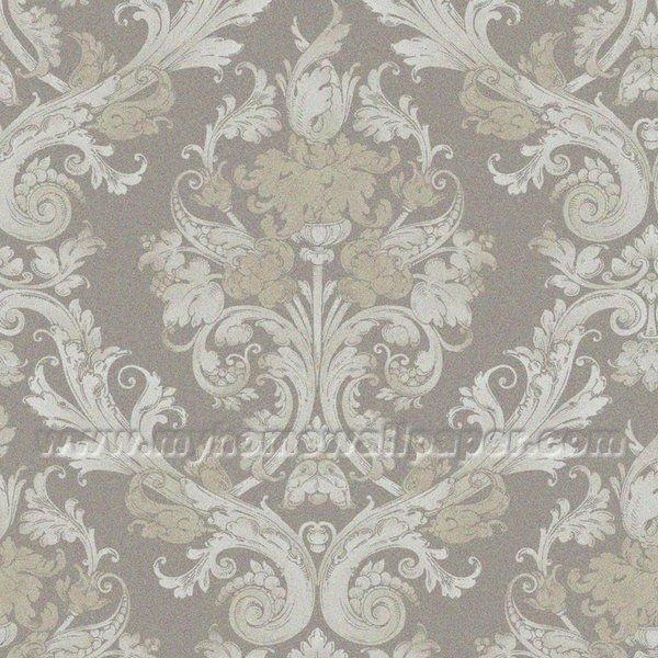 ... > Metallic Wallpaper > VOL17-Diamond Dust > Silver wallpaper#G90105