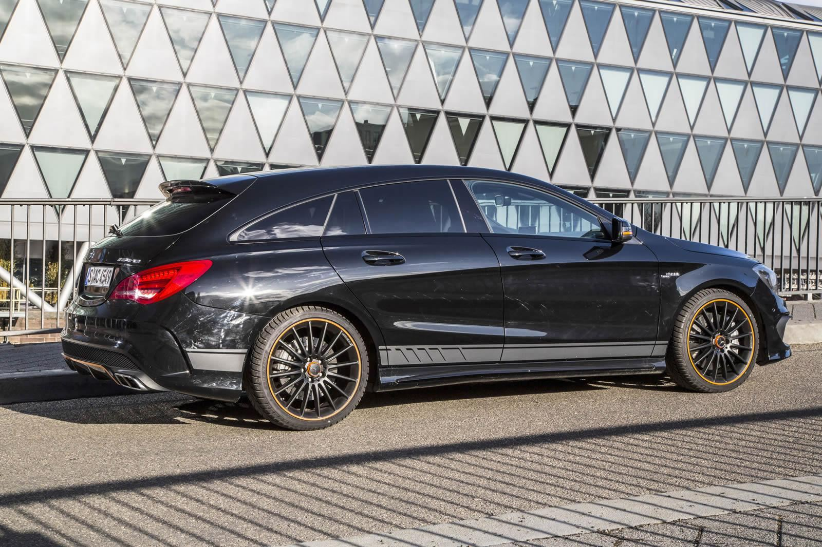Mercedes Benz CLA 45 AMG Shooting Brake OrangeArt Edition 2015 1600x1066