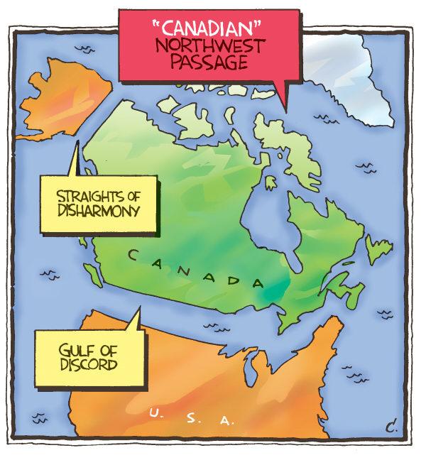 renamed   English   Northwest passage Canada USA shipping arctic 600x648