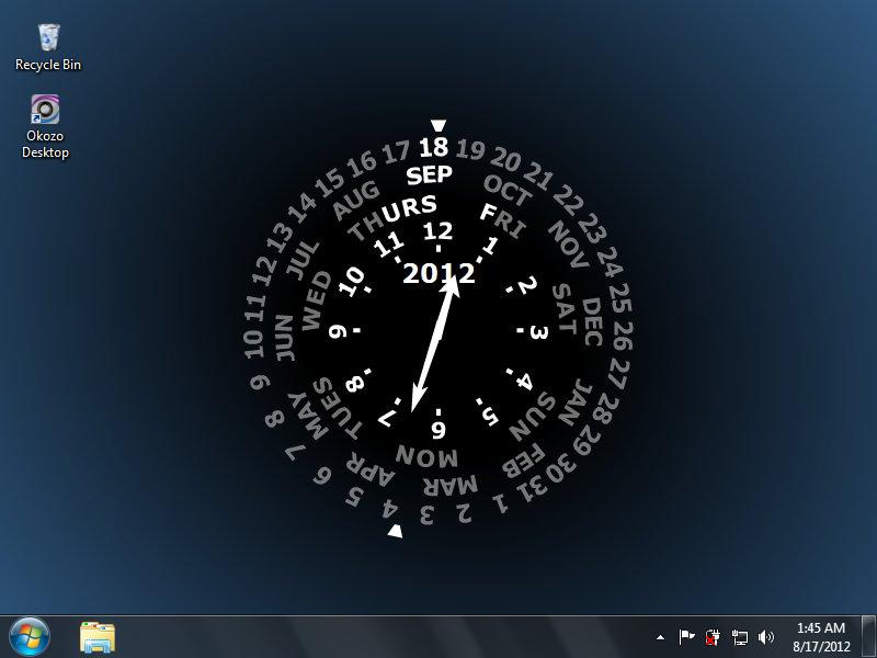 Calendar Clock Wallpaper For Desktop : Clock desktop wallpaper wallpapersafari