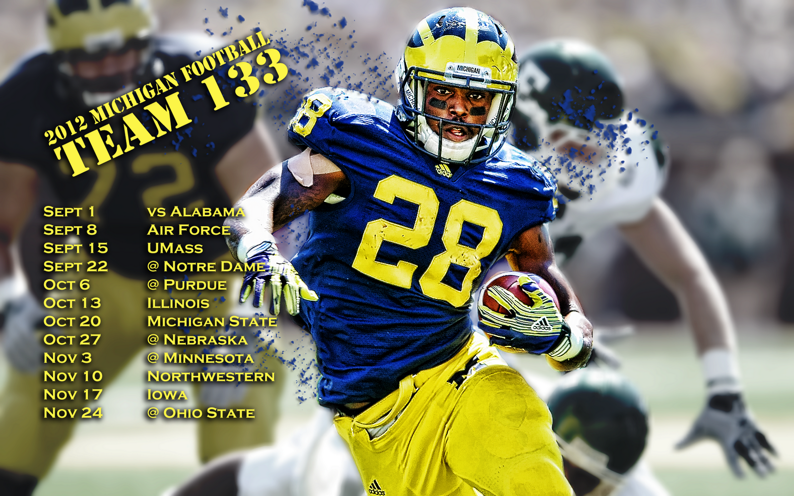 michigan football wallpaper screensavers wallpapersafari