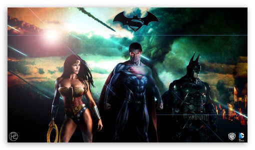 Superman Batman Wonderwoman DC HD desktop wallpaper High Definition 510x300