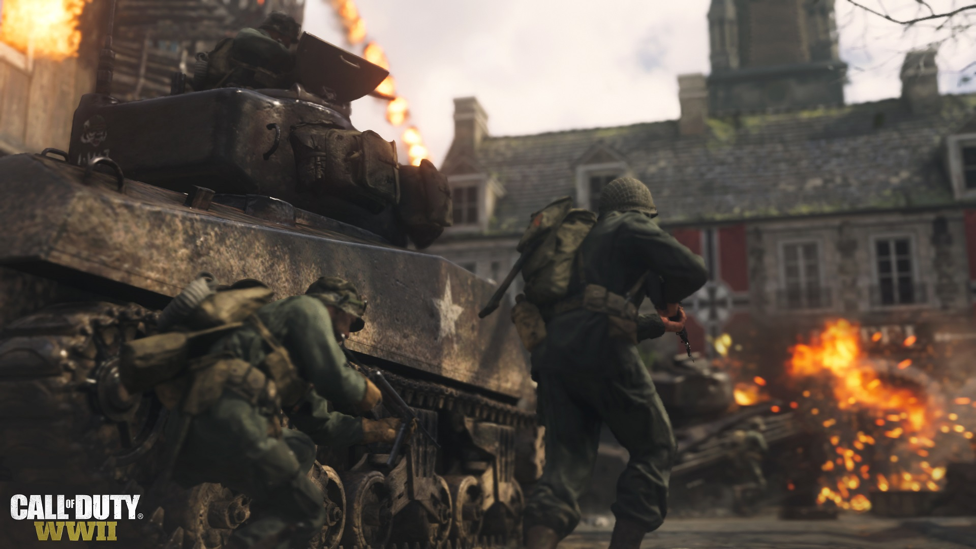 E3 2017 Call of Duty WWIIs Campaign Has Lots of Action Little 1920x1080