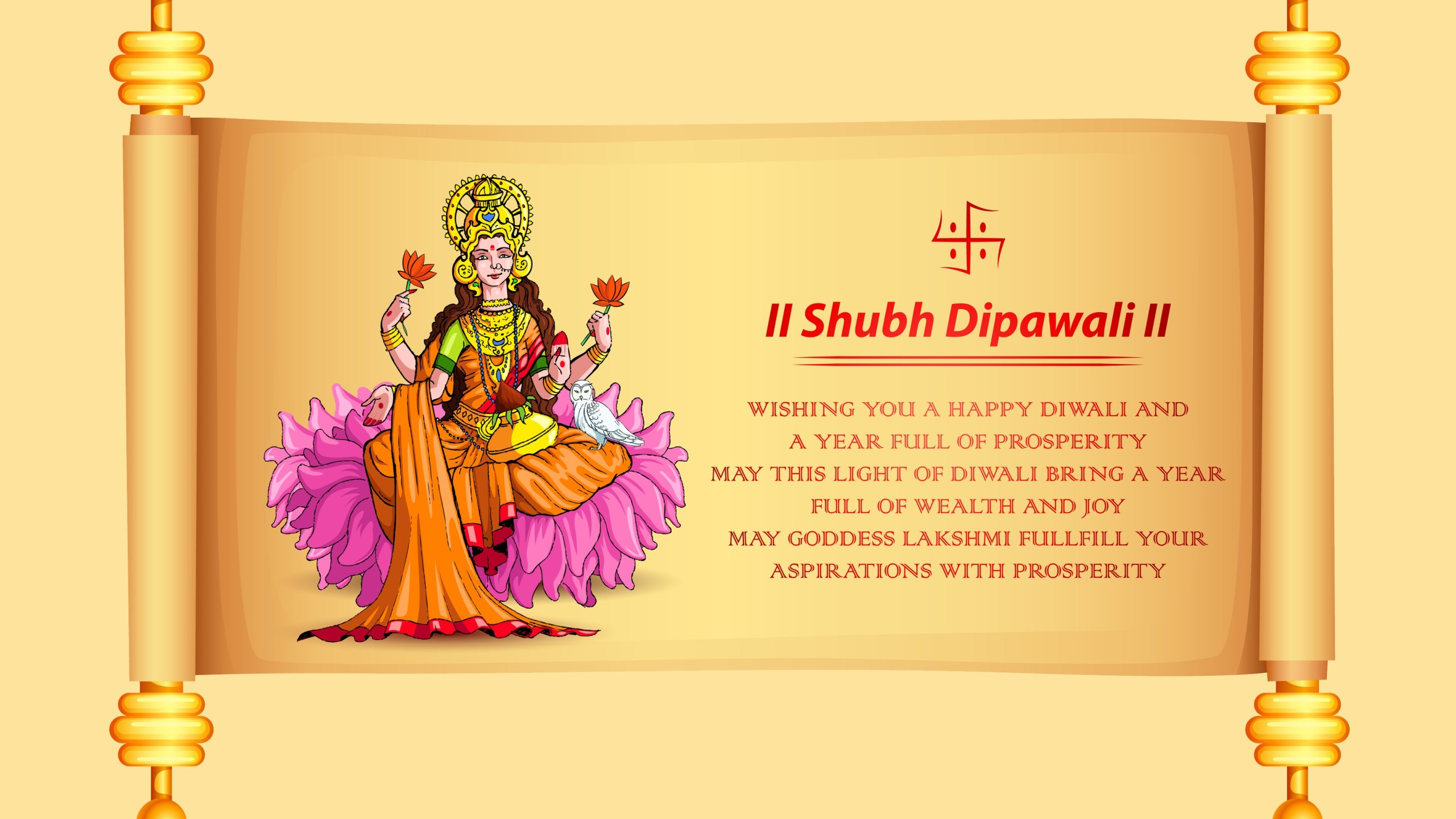 Happy Diwali With Dhanteras Greetings Wallpapers Latest 2560x1440